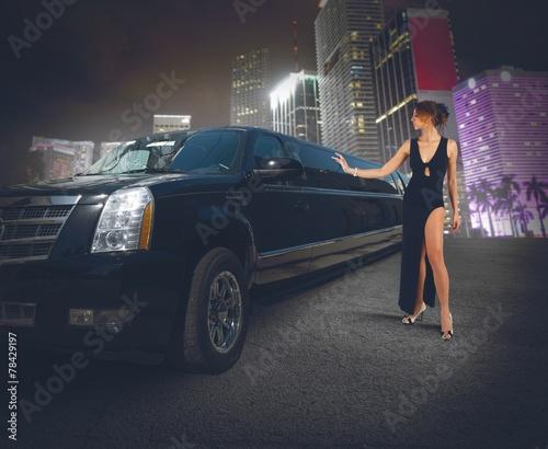 Fotografia Luxury limousine