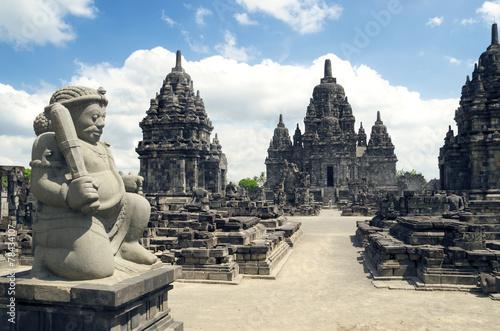 Photo sur Aluminium Indonésie Ruins of Prambanan