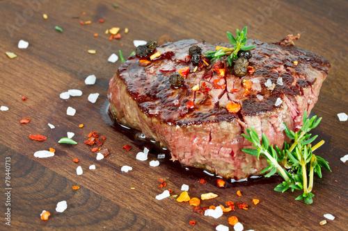 In de dag Grill / Barbecue Steak