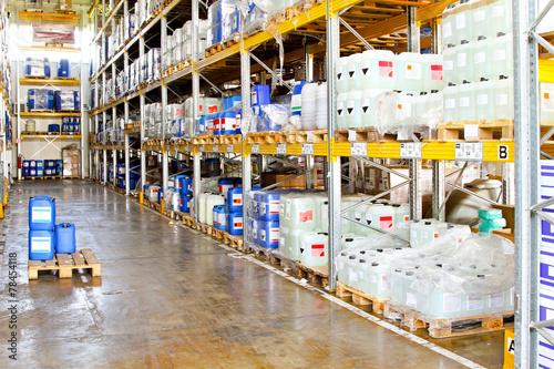 Fotografia  Chemical warehouse