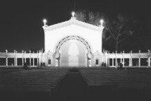 The Spreckels Organ Pavillion At Night In Balboa Park, San Diego