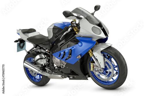 Racing motorcycle - 78465770