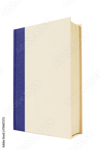 Valokuva  Blue and cream hardback book