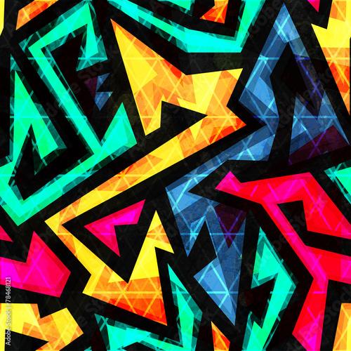 Materiał do szycia jasne geometryczny wzór