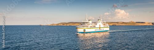 Fotografía  Ferry maltais à Gozo, Malte