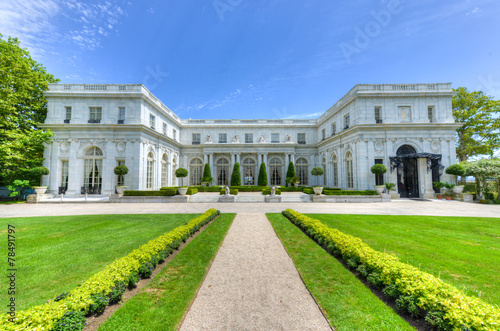 Rosecliff Mansion - Newport, Rhode Island Canvas Print