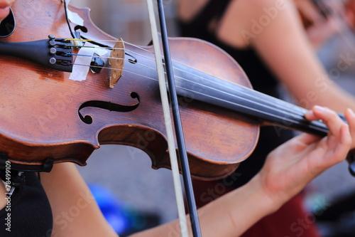 Fototapeta Violino strumento musicale