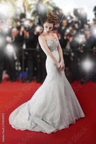 Fotografie, Obraz  Beautiful red carpet