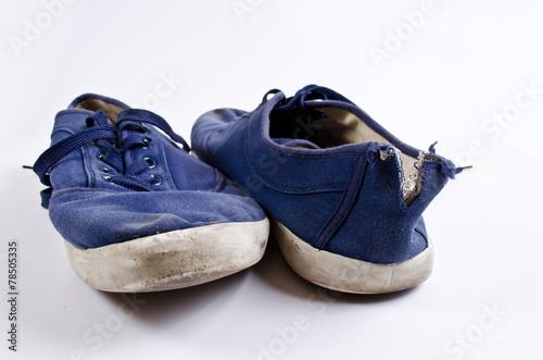 Fototapeta Old tennis shoes obraz