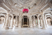 Ranakpur Temple Interior