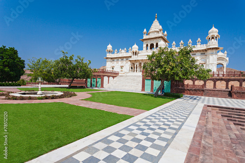Photo  Jaswant Thada mausoleum