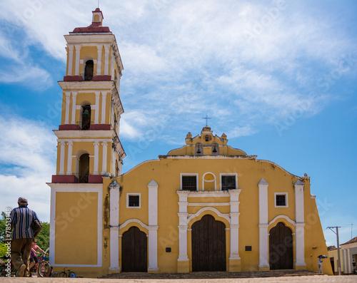 Photo  Saint John Baptist Catholic Church in Remedios,Cuba