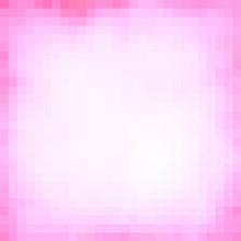 Pink Geometrical Frame