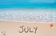 July On A Tropical Beach