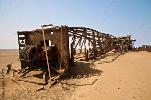 Rovine nel deserto фототапет