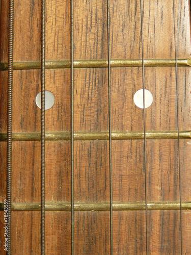 Spoed Foto op Canvas Muziekwinkel Guitar neck
