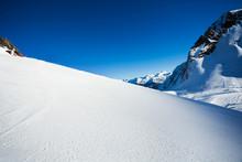 Snow View And Caucasus Mountai...