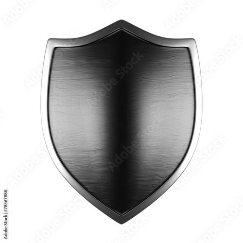 Fotografie, Obraz  Metal shield