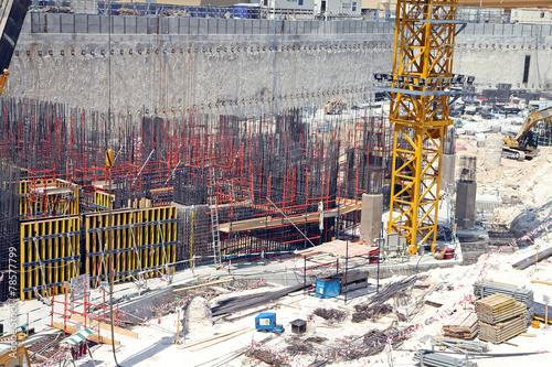 Foto op Plexiglas Contruction yard