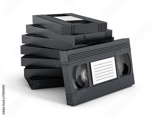 Fotografia, Obraz  VHS videotape