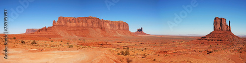 Spoed Foto op Canvas Natuur Park Monument Valley, Arizona