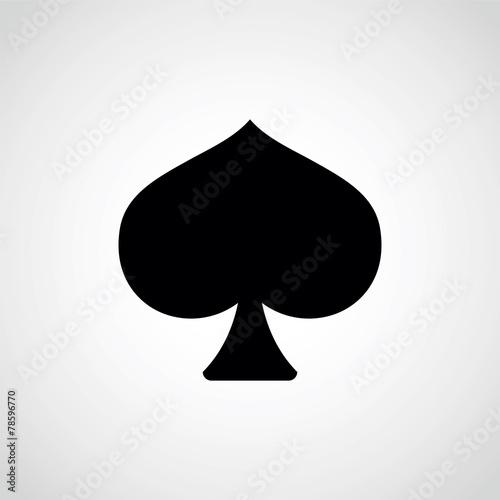 spades. плакат