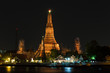 Aroon-Ratch-Wa-Ra-Ram Temple is one of all Landmark in Bangkok.