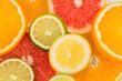 canvas print picture - Orangenscheiben