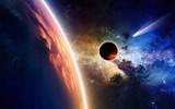 Planety i kometa