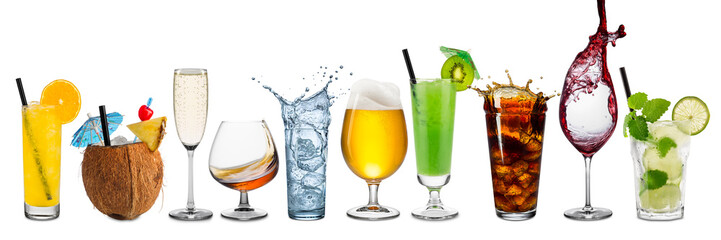 red raznih pića