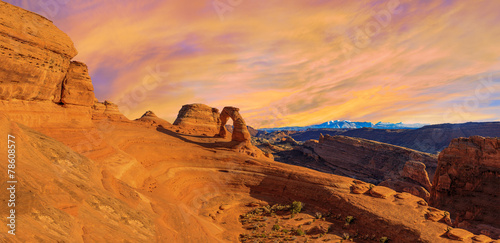 Poster Algérie Panorama of Arches National Park