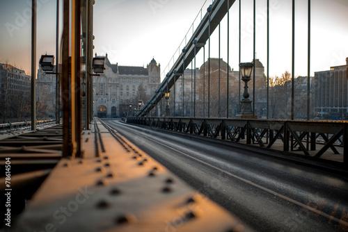 Tablou Canvas Szechenyi Chain Bridge