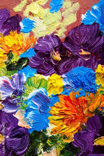 abstrakcyjne-tlo-obraz-olejny-kwiaty