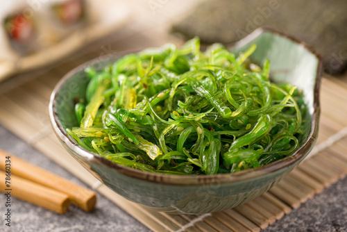 Obraz na plátně Seaweed Salad