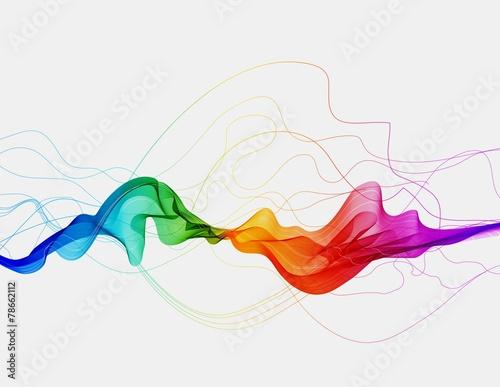 abstrakcjonistyczny-kolorowy-tlo-z-fala