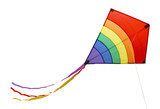 Fototapeta Tęcza - Rainbow Kite