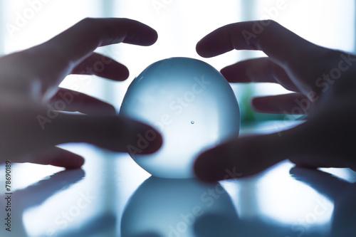 Fényképezés voyance boule