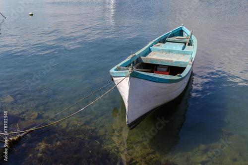 Cuadros en Lienzo Old rowboat