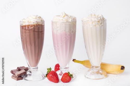 Foto op Plexiglas Milkshake Delicious milkshake
