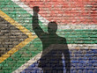 canvas print picture - South Africa civil rights movement