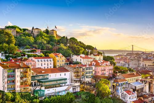 Lisbon, Portugal Skyline