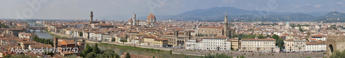 Fotobehang Florence Florence sunny day cityscape panorama