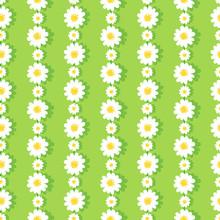 Seamless Daisy Chain Pattern