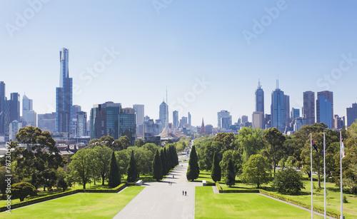 Fototapeta premium Melbourne w ciągu dnia