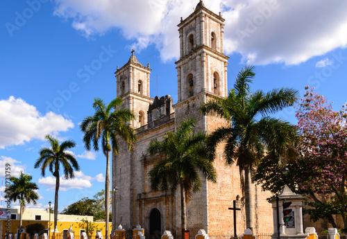 Church in Valladolid, Mexico