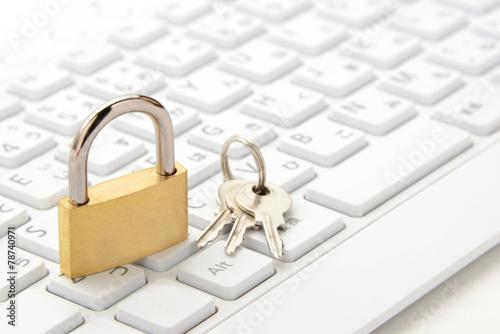 Fotografia  パソコンのセキュリティー保護イメージ