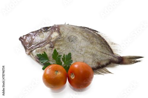 Photo  fresh fish isolated