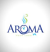 Aroma Therapy Logo Design. Aromatic Oils Design Symbol