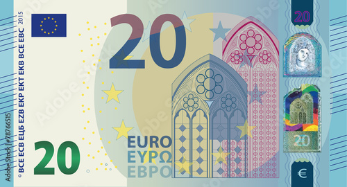 Photographie  New Euro 20 Vector