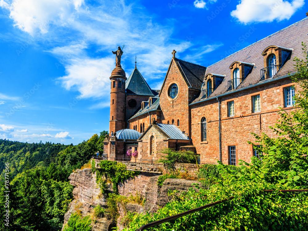 Fototapety, obrazy: Saint Odilia Kloster, Schutzpatronin des Elsass